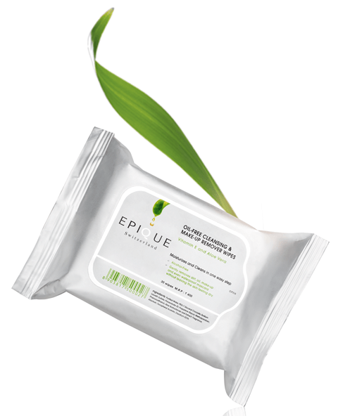 Epique Oil-Free Cleansing & Make-Up Remover Wipes